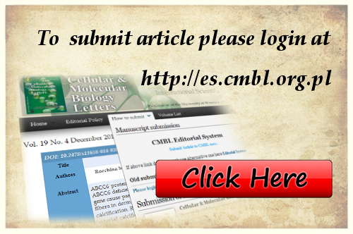 To submit article please login at http://ojs.cmbl.org.pl